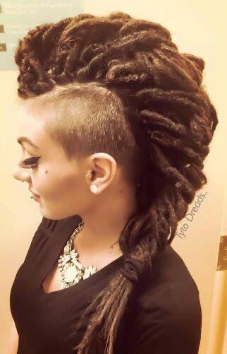 #STYLEDLOCS Pinterest - @houstonsoho   Tyto Dreads (Pastel Hair Ends)