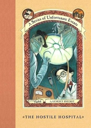 The Hostile Hospital (A Series of Unfortunate Events, #8) by Lemony Snicket