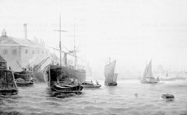 Shipping in the Pool of London 1888