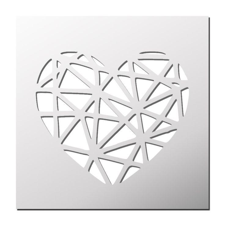 Les 274 meilleures images du tableau pochoirs scrap sur for Pochoir geometrique
