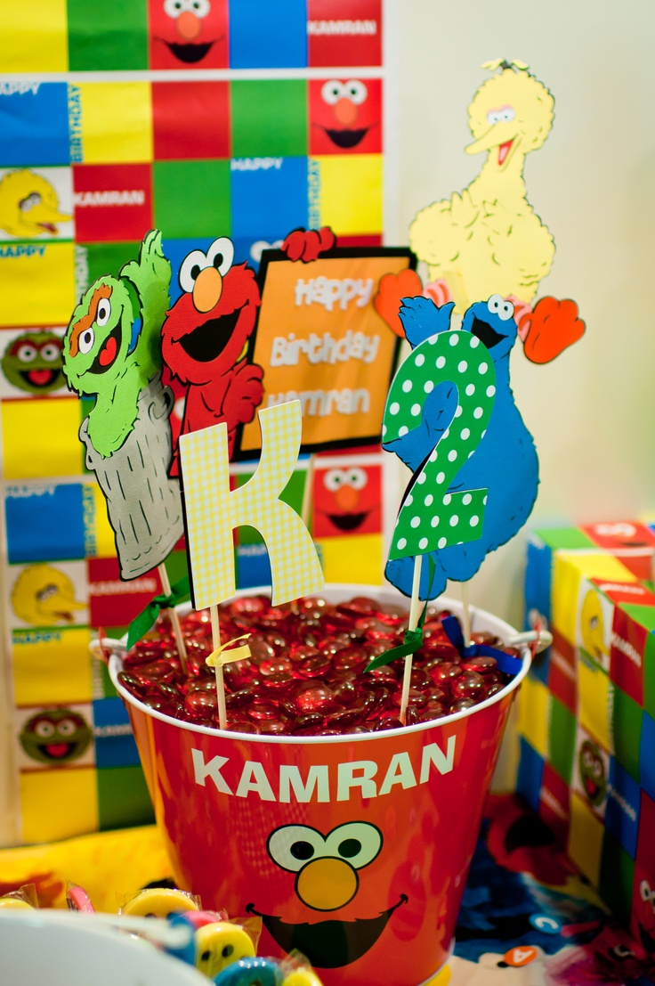 32 best Sesame Street Party! images on Pinterest