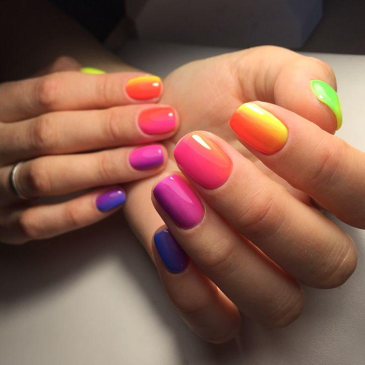 awesome Какой выбрать маникюр на широкие ногти (50 фото) — Модный дизайн 2017