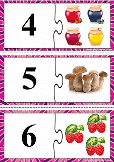 Child Development: Puzzle számok 1-15