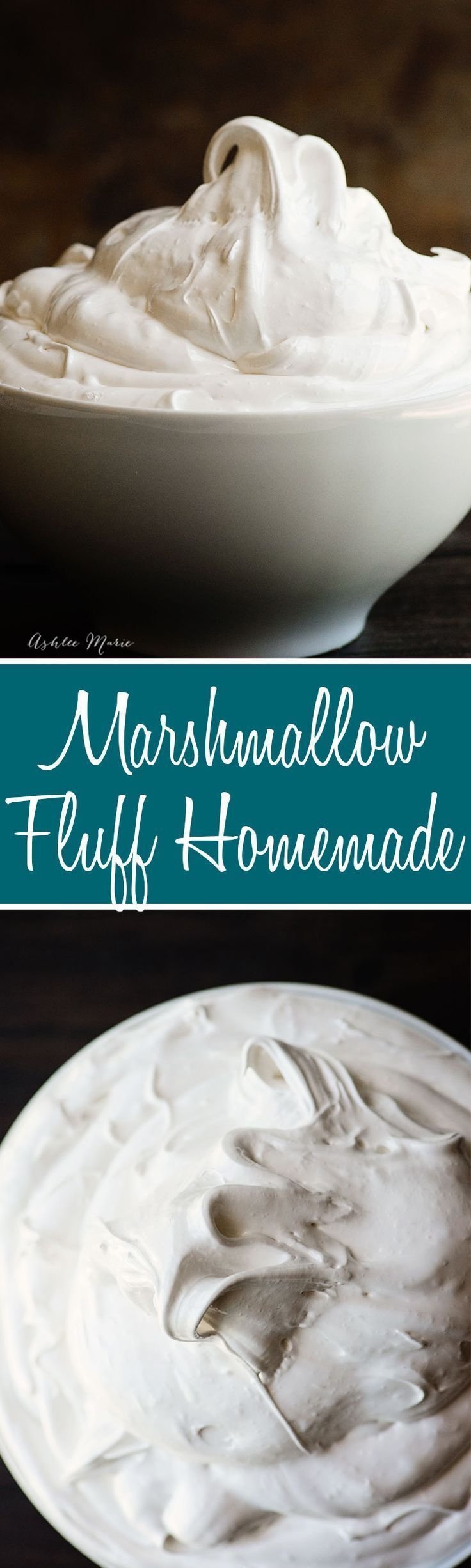 this marshmallow fluff, or frosting, is easy to make and so delicious - recipe and video tutorial