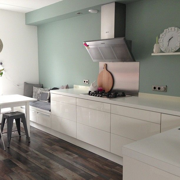 Achterwand Keuken Mdf : even een extra foto van de achterwand! Web Instagram User ? Collecto