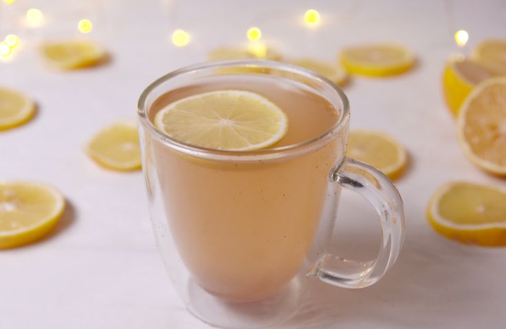 Feeling bloated or just blah? This detox drink will help cure you.  Juice of 1 lemon 1 tsp. honey Pinch of cayenne Pinch of ground ginger Pinch of ground cloves 1 c. hot water lemon slice, for garnish