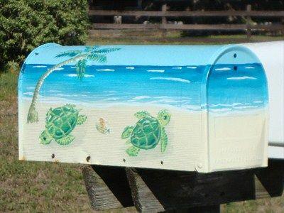 Sea Turtles on the Beach - Jacksonville Beach, FL - Painted ...
