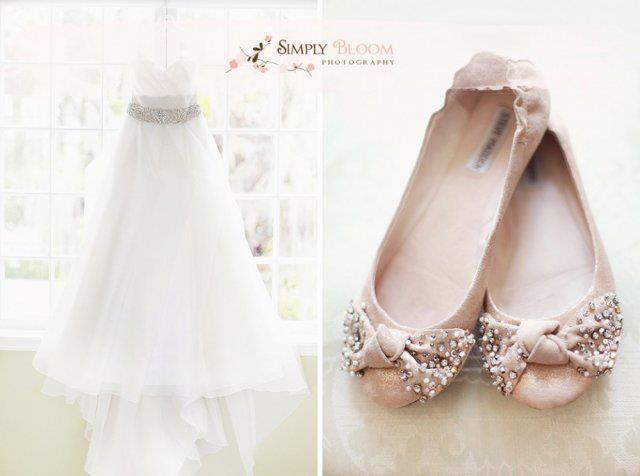 Já se imaginou casando de sapatilhas nos pés? Dependendo do modelo, essa pode ser uma alternativa... pinned with Pinvolve
