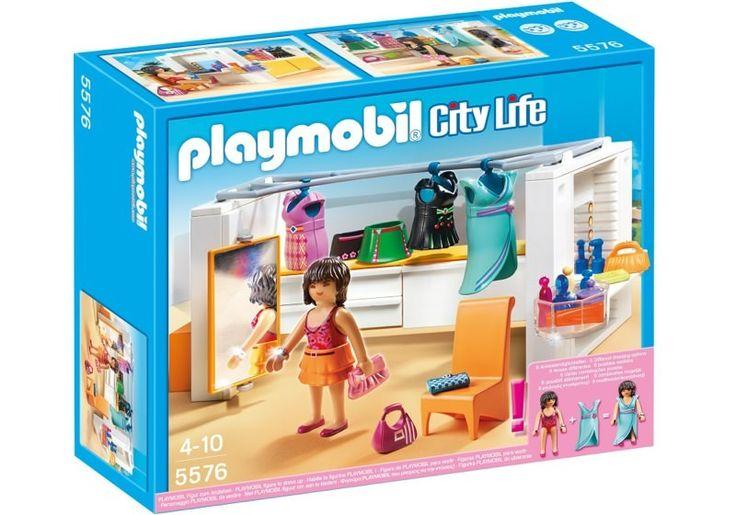 Playmobil 5576 Modern Dressing Room Box Playmobil Doll Storage Dressing Room