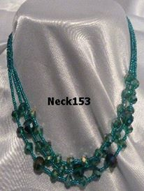 Necklace Green #Neck153