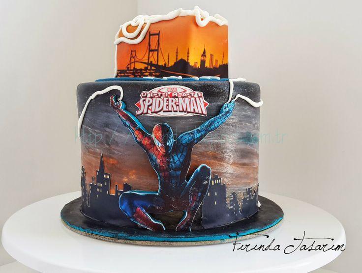 FIRINDA TASARIM: Spiderman Pasta