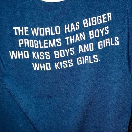 Yes, many!! This NON PROBLEM doesn't effect anyone at all... What should it matter at all to someone who someone else chooses to kiss, sleep with, etc??  #justbeyouandmindyourown #whocareslongaseveryoneshappy