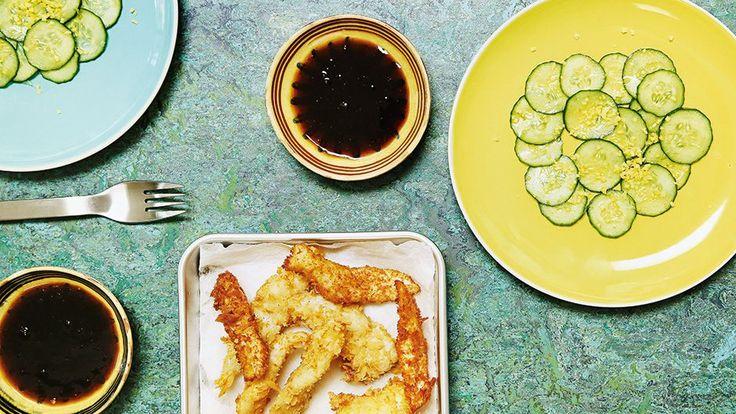 Rezept von Tim Raue: Frittierter Fisch - Das Kochquartett