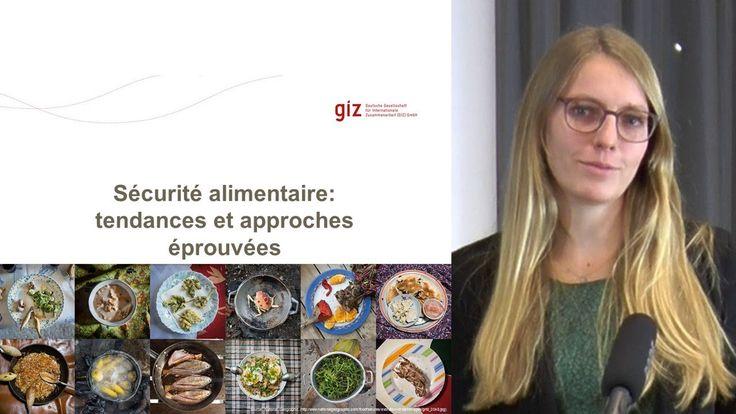 Sécurité alimentaire: tendances et approches éprouvées (allemand avec so...