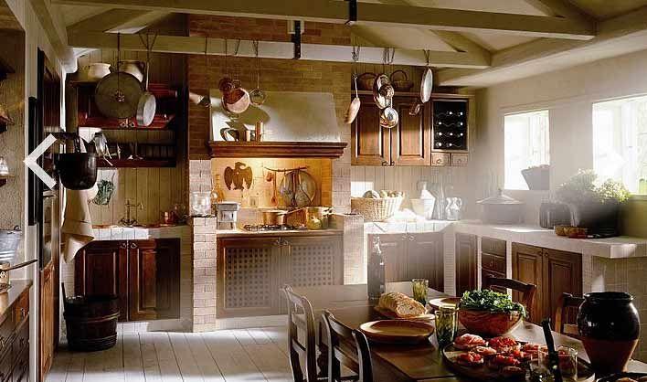 17 migliori idee su Cucine Rustiche su Pinterest  Isola da cucina rustica, Mobili rustici da ...