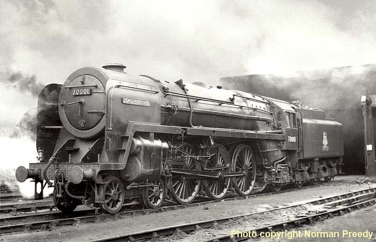 "B.R. Riddles 7MT ""Britannia"" 4-6-2 #70021 ""Morning Star"""