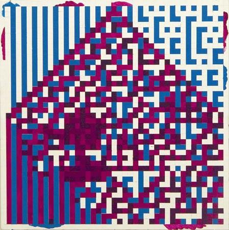 Simon Ingram, AutomataPaintingNo17, 2007