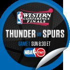 Oklahoma City Thunder vs. San Antonio Spurs #1