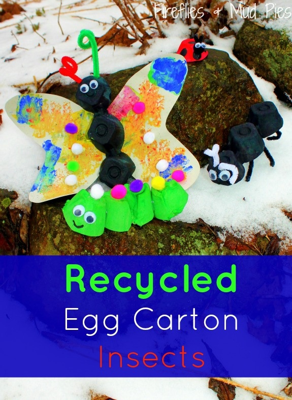 17 best images about preschool bugs on pinterest hungry for How to recycle egg cartons
