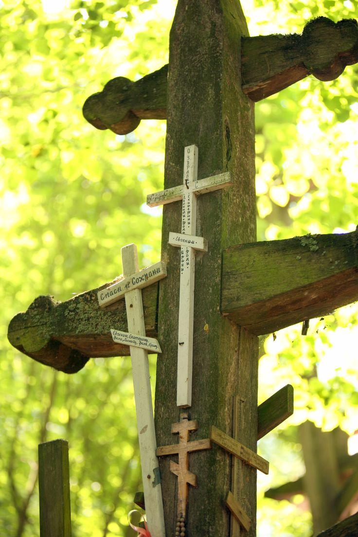 Krzyże na Świętej Górze   Crosses on Holy Mountain Grabarka #holymountain #grabarka #crosses #east #easternorthodoxy #holyplace #polska #poland #travel #seeuinpoland