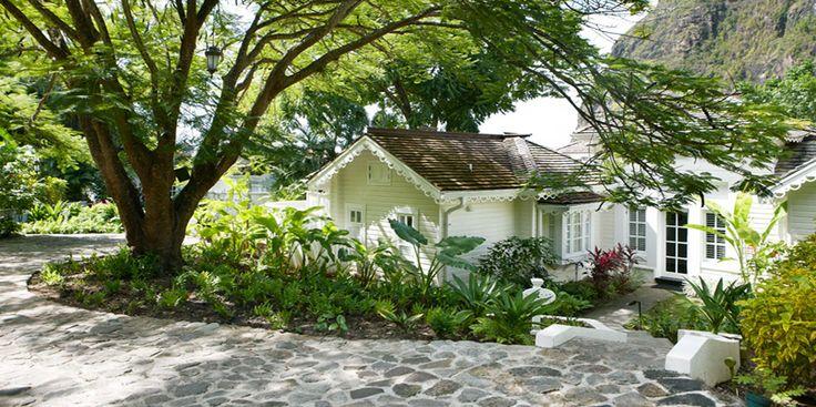 The Jalousie Plantation, Sugar Beach.  Saint Lucia, West Indies