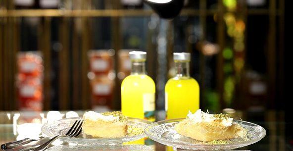 Καταΐφι με τυρί κρέμα