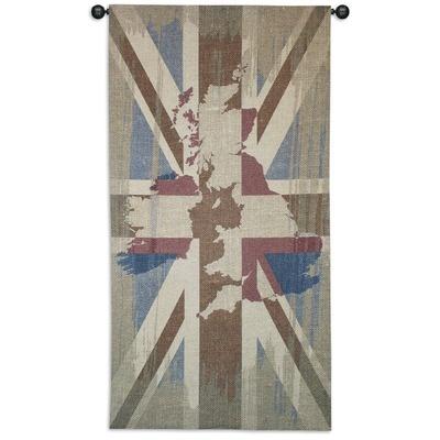 Fine Art Tapestries Union Jack Tapestry