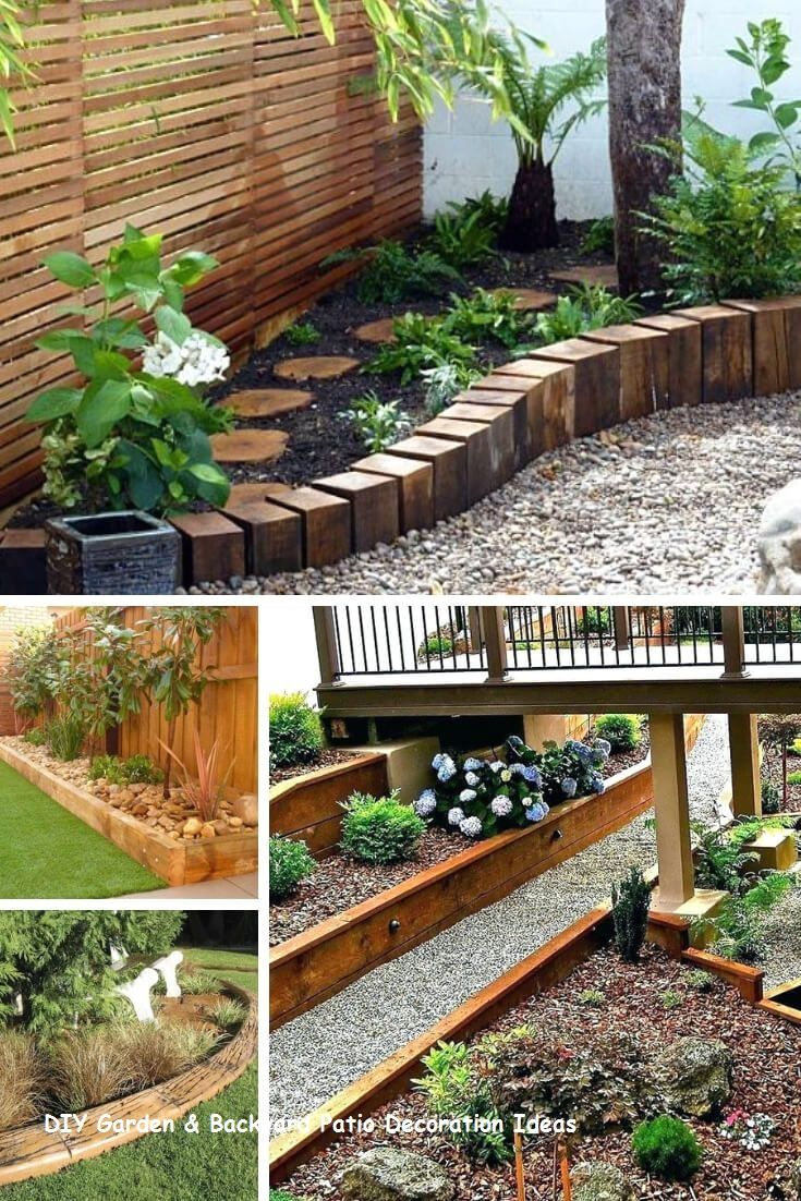 13 Awesome And Cheap Patio Furniture Ideas 2 Garden Edging Ideas Cheap Wood Garden Edging Patio Garden