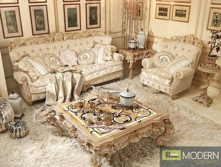 3PC Italian Luxury Style Living Room Sofa Set - Bellissima $4999 | Home Int  FURNITURE L R | Pinterest | Beautiful things, Classic furniture and Living  room ... - 3PC Italian Luxury Style Living Room Sofa Set - Bellissima $4999