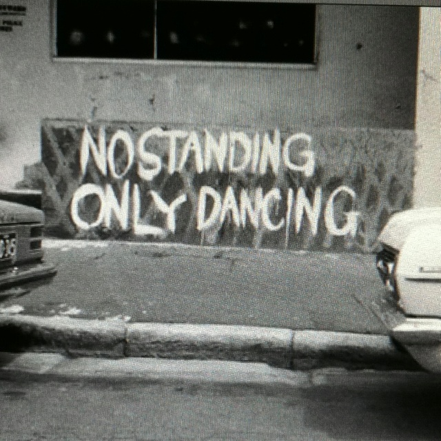 why would you stand when you can dance