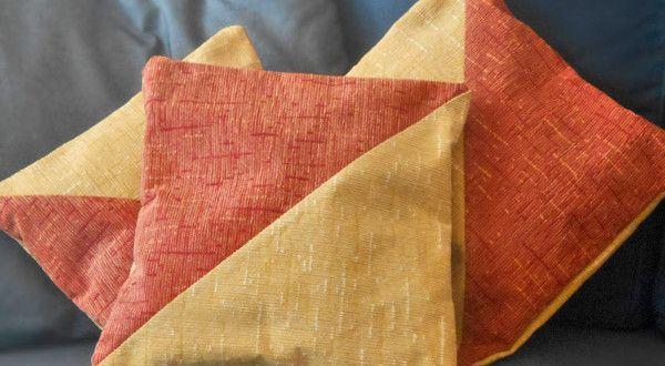 Tutorial: come cucire le fodere dei cuscini senza chiusura - La Torre di Cotone