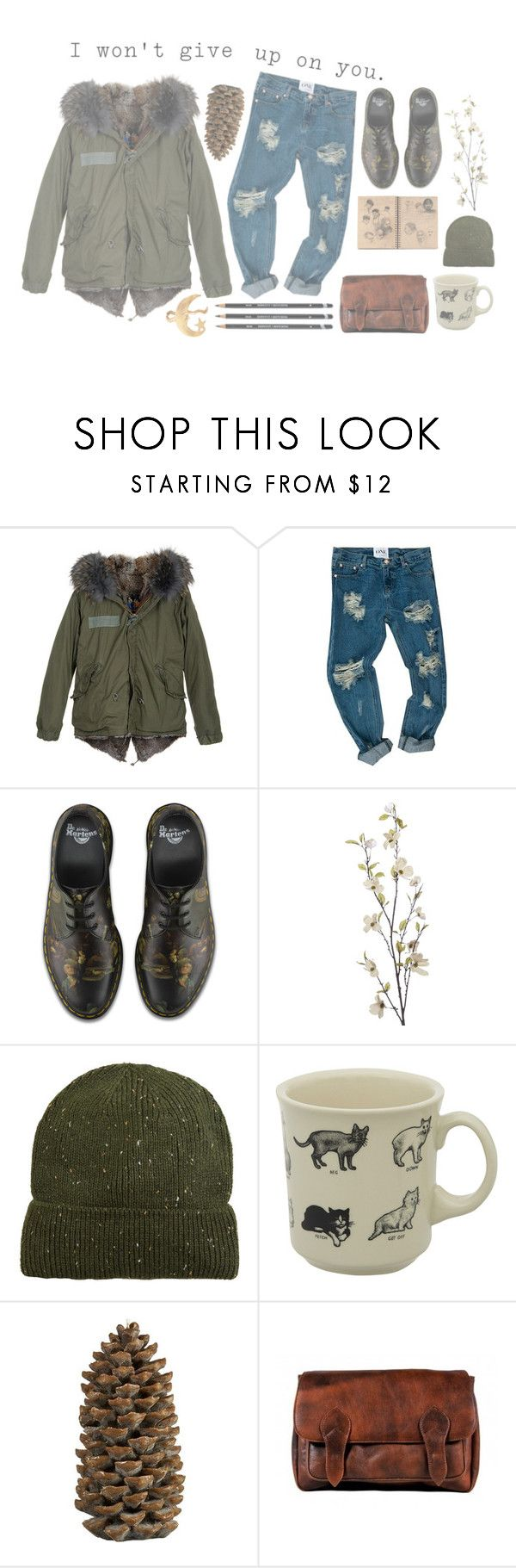 """""""10.10.16"""" by theboy-who-could-fly ❤ liked on Polyvore featuring Mr & Mrs Italy, OneTeaspoon, Dr. Martens, Pier 1 Imports, MANGO, Fishs Eddy, Crate and Barrel, Bohemia and Alkemie"""