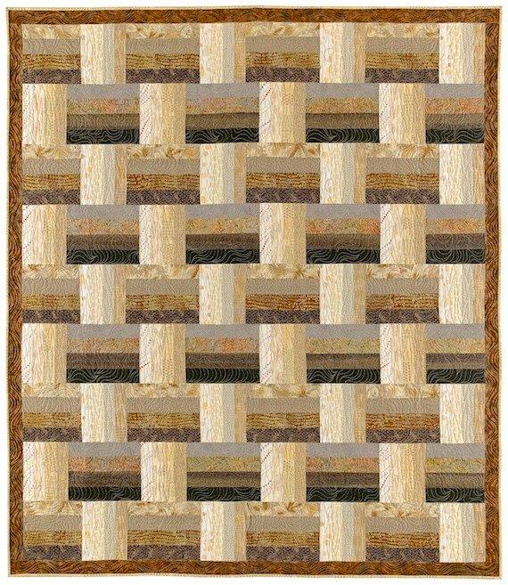 Basket Weave Quilt patroon Dit patroon zal u duidelijk instrueren in het maken van deze snelle-knippen en strippen gereconstrueerd ontwerp. Het is elegant in zijn eenvoud en maakt een perfecte muur of bed quilt ontwerp. Drie quilt maten zijn inbegrepen: 50 x 60, 66 x 76 en 82 x 92 Mijn patronen omvatten: • Volledige kleur cover foto s • Duidelijke en gedetailleerde yardage en snijden eisen • Stapsgewijze instructies voor het snijden en kleur diagrammen voor gemakkelijke bouw • Gedrukt op…
