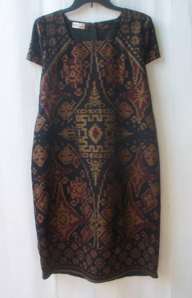 tenun dress