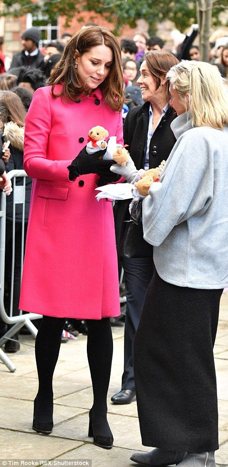She will later be taking part in the Coventry Litany of Reconciliation... #katemiddleton #royals