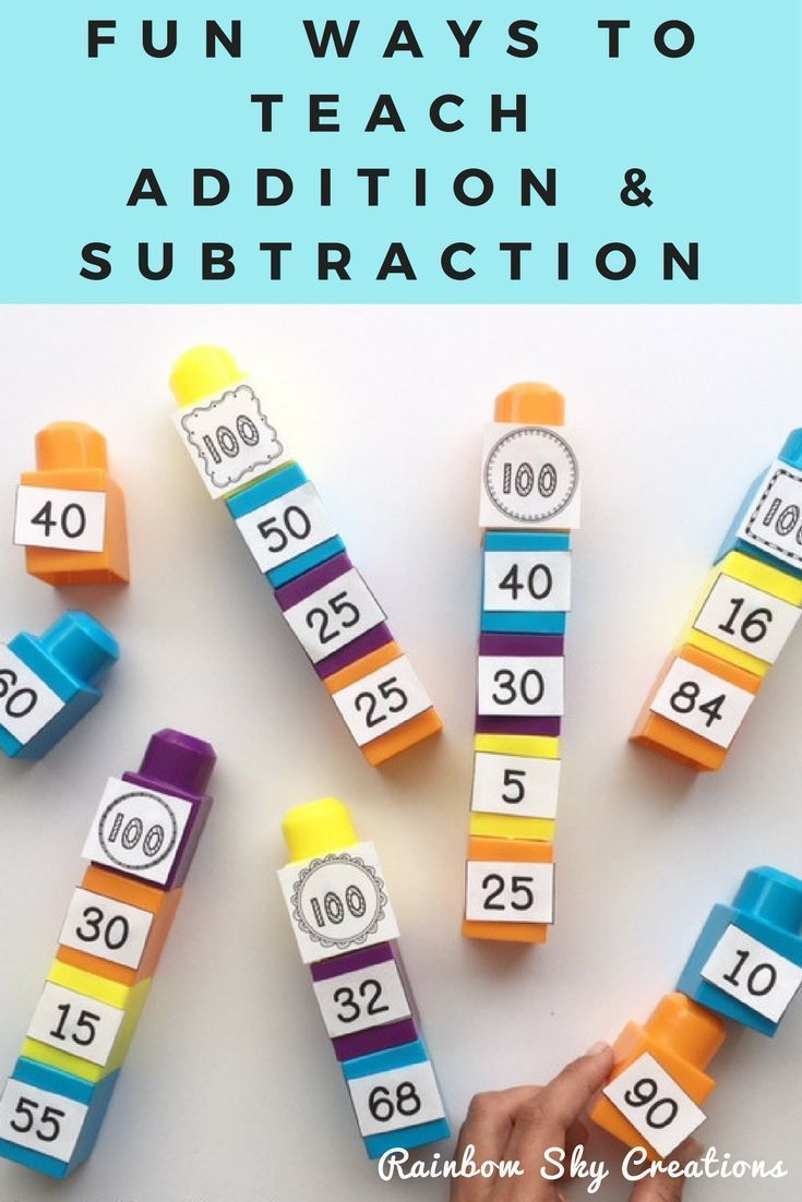 Check out this packet of addition and subtraction printables to help teach your Year 2, Year 3 and Year 4 students about the relationships between numbers. Recording sheets, games, hands on activities, number lines and varied addition and subtraction strategies are included. Minimise your prep and increase the fun. Worksheets are perfect to build your lesson or use as a math center (centre). Suitable for 2nd, 3rd, 4th grade, homeschool #rainbowskycreations