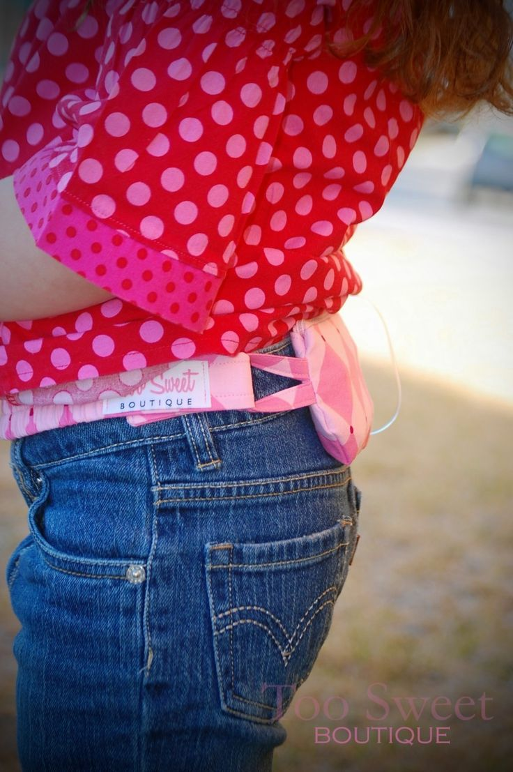 CUSTOM Insulin Pump Pouch-Simply Practical- Too Sweet Boutique -Choose your fabric. $32.00, via Etsy.