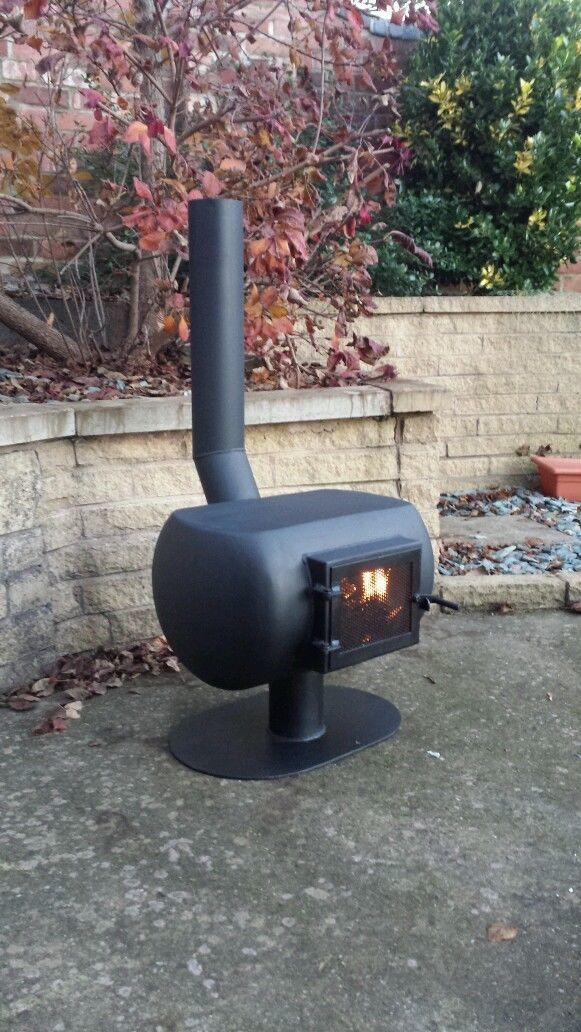 Here we have a gas bottle wood burner chimnea made from a 13kg gas bottle. Perfect for barbecues or those chilly spring evenings. Other designs available or can build to your own specification.   Thanks for looking. | eBay!