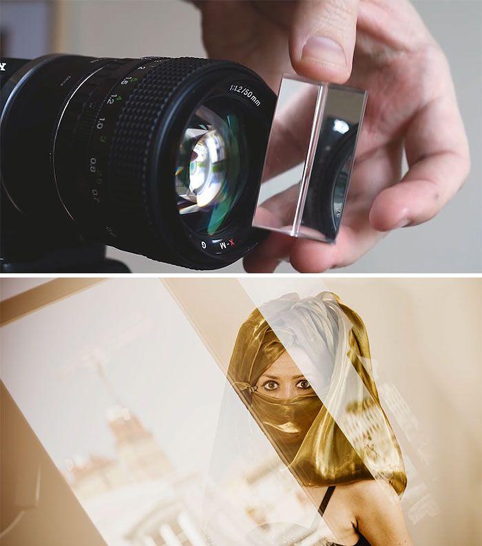 Как сфотографировать размытый задний фон работы проектом