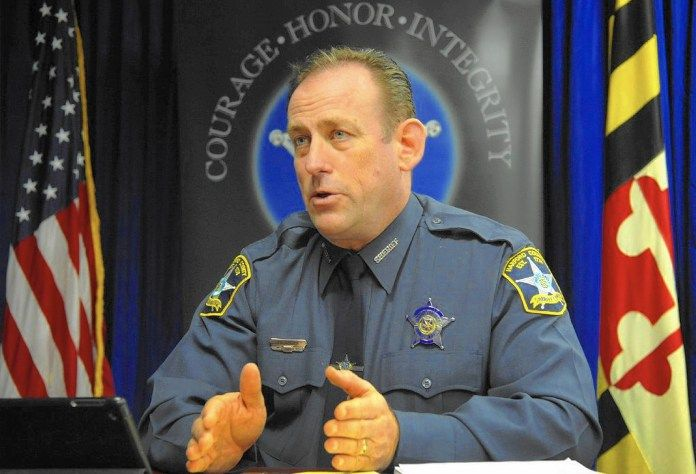 Harford County people group Sheriffs Office talk about school wellbeing - Uncategorized Barry Glassman Bel Air Harford County Harford County Public Schools Maryland Safety school Sheriff Jeffrey Gahler Sheriff's Office wellbeing