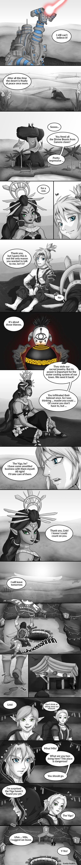 Zelda Comic: Heart of a Champion - 1