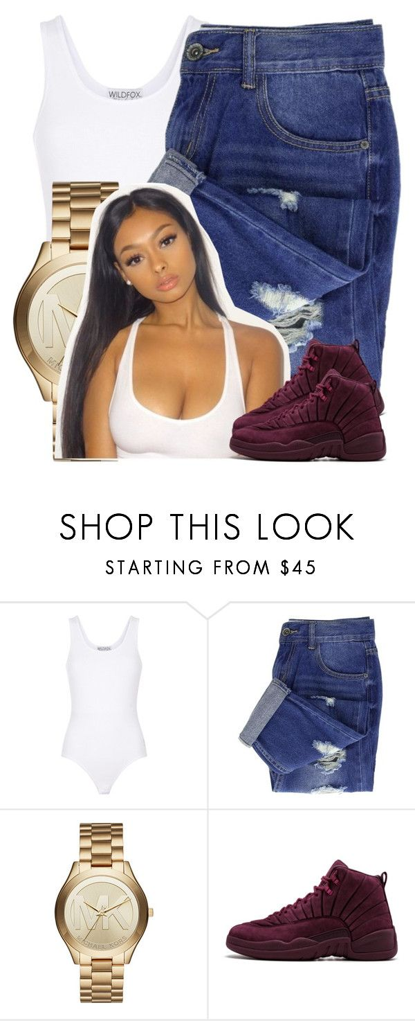 """""""162"""" by jalay ❤ liked on Polyvore featuring Wildfox and Michael Kors"""