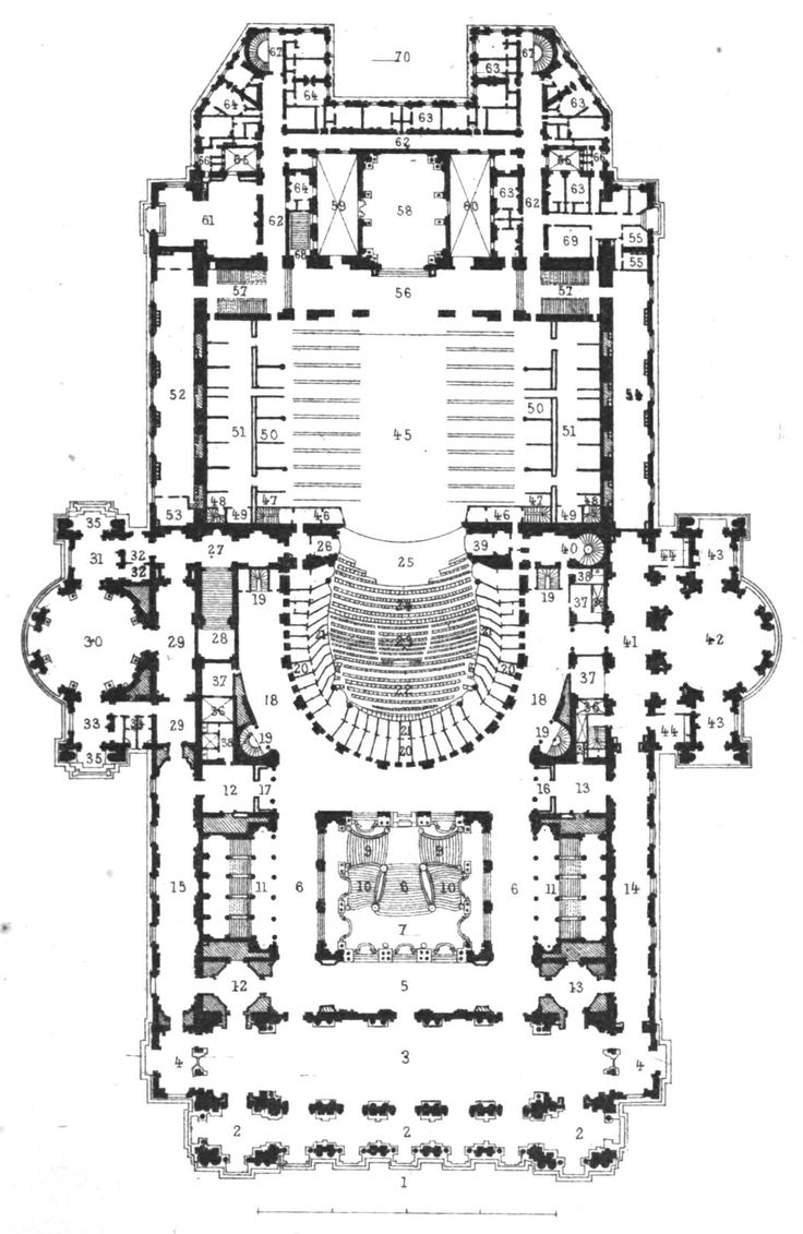 10 best opera garnier floor plans images on pinterest floor the paris opera house still in use was the basis for the opera house in the phantom of the opera book and play many details from the building can be