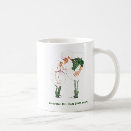 Mother Earths Children Collection White Turnip Coffee Mug - individual customized designs custom gift ideas diy