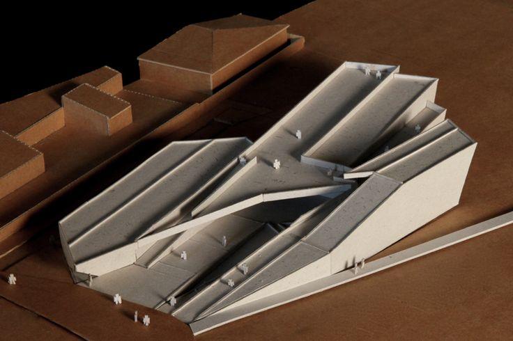 architecture models: Centro Sócio-Cultural da Costa Nova