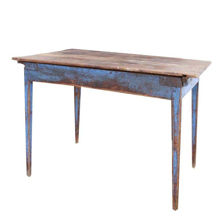 A Swedish Rustic Table | 1stdibs.com