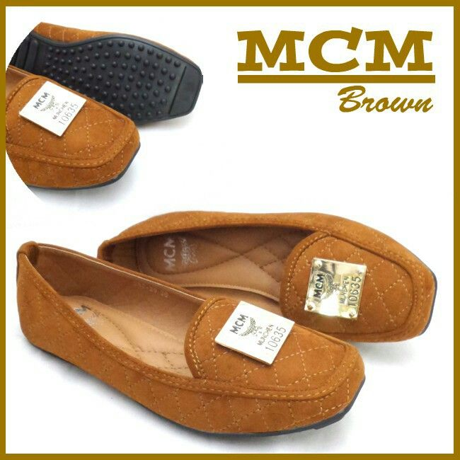 MCM Shoes Flat 4733 Brown 35 200rb