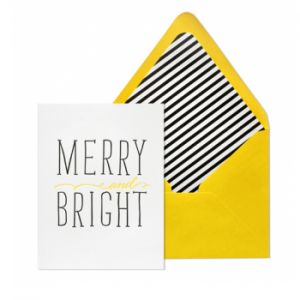 Holiday Card by Sugar Paper of Los Angeles, California