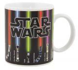 Taza sables láser. Star Wars. Sensible al calor