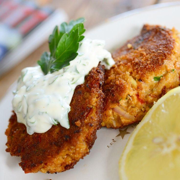 Crabcakes   lars spiser – oppskrifter & matglede
